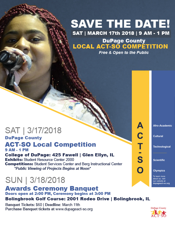 dupage county act so act so competition and banquet info flyer